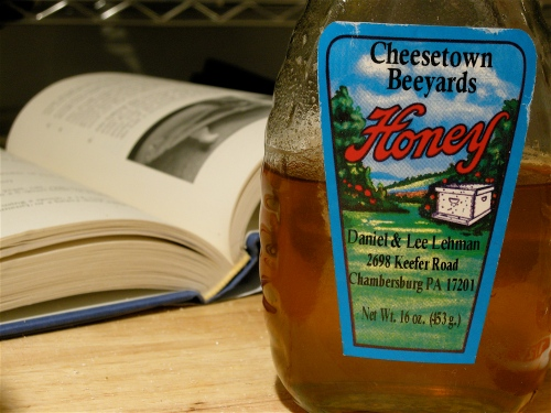 honey-and-book