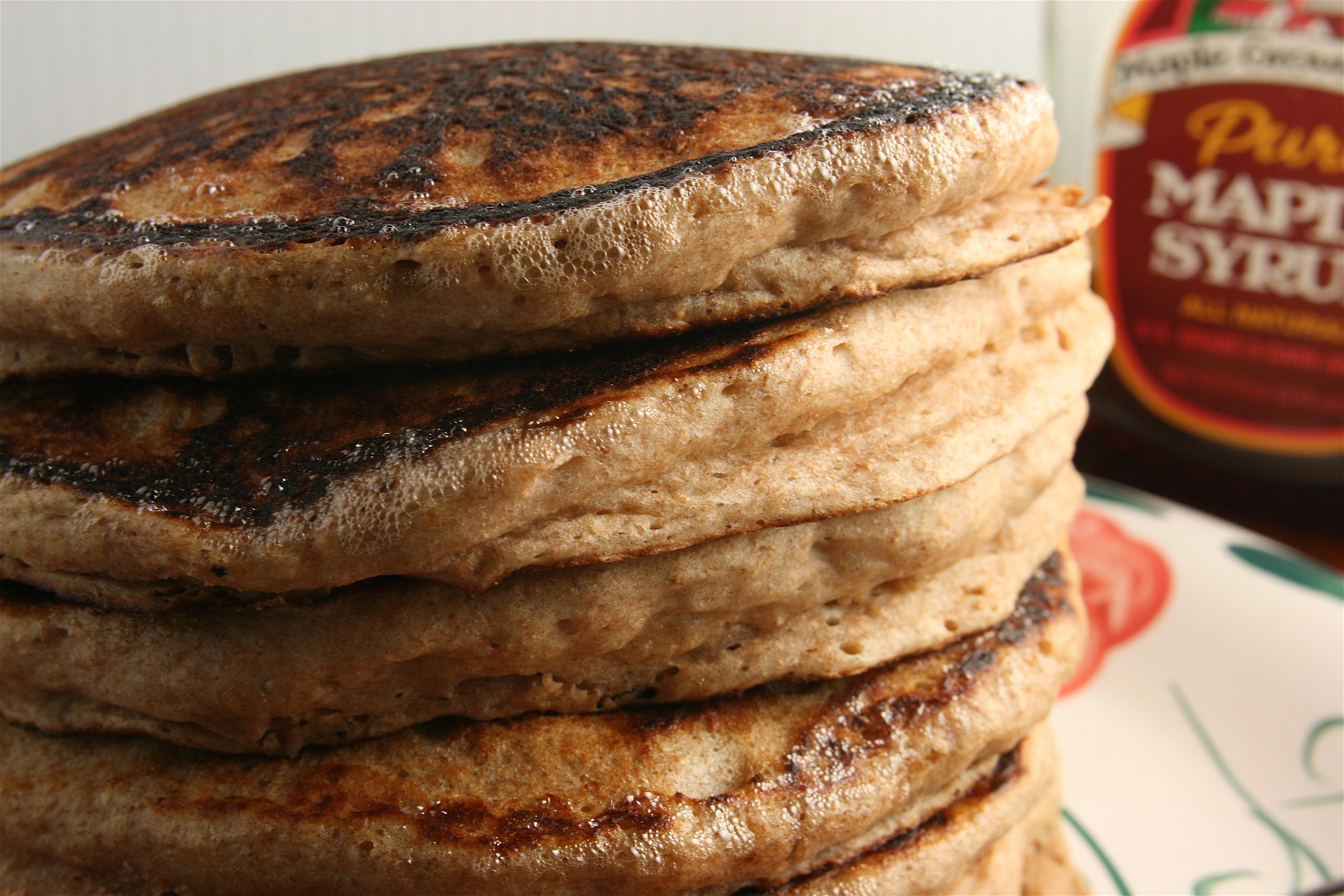 Whole Wheat Lemon Buttermilk Pancakes | Adventures in Shaw