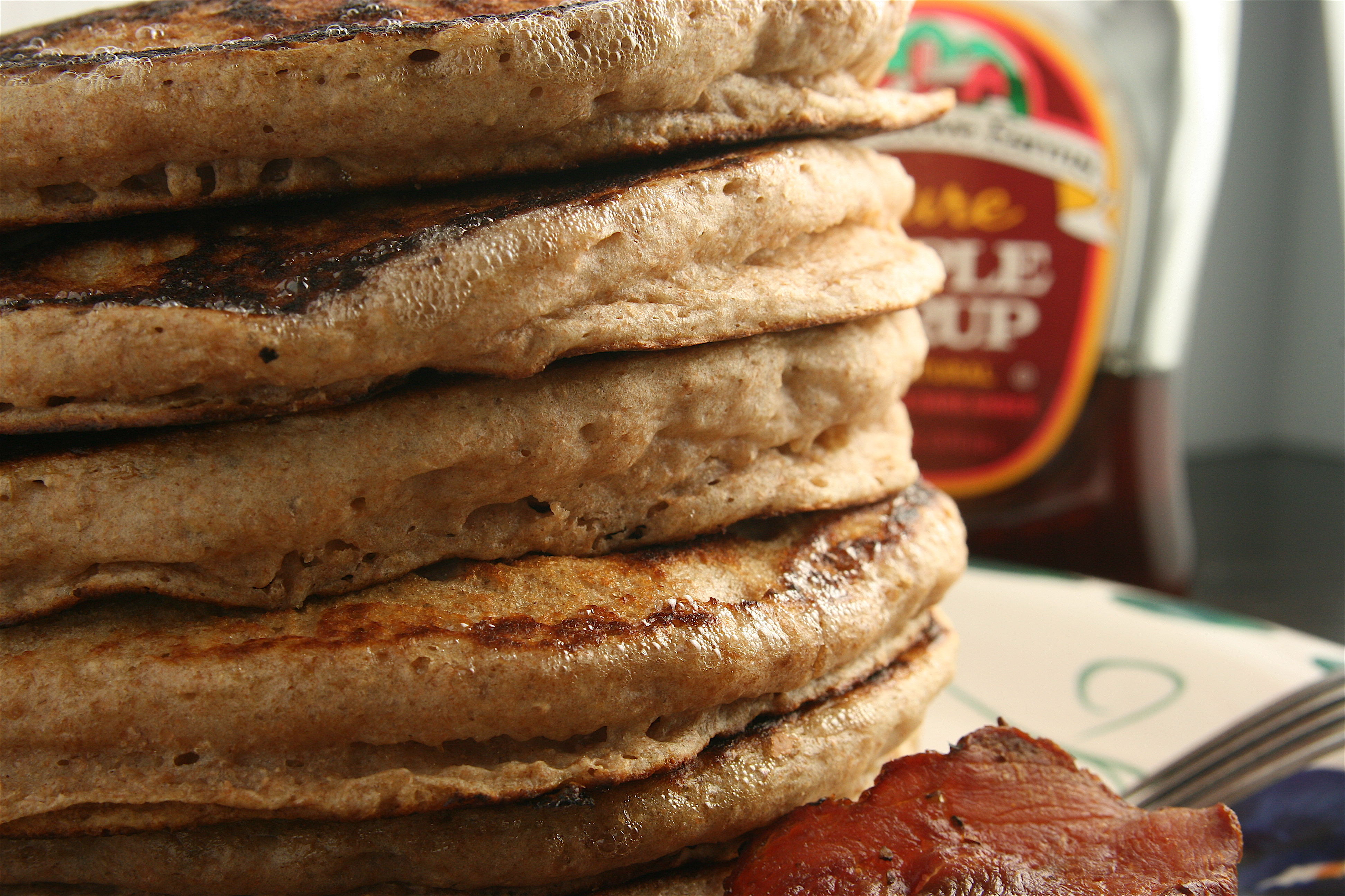 how to make aunt jemima pancake mix without eggs